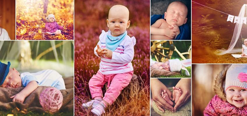 Portfolio fotografii dziecięcej